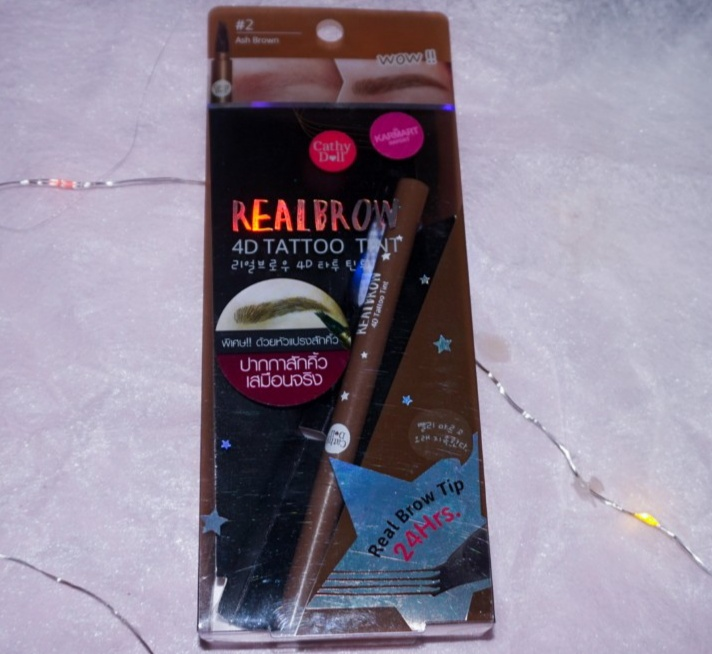 REVIEW REAL BROW 4D TATTO TINT CATHY DOLL