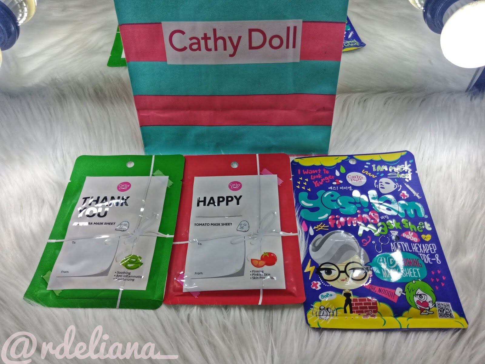 Review Realbrow 4D Tattoo Tint dan Sheet Mask Cathy Doll
