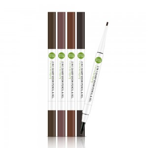 2In1 Sharp Brow Pencil & Gel