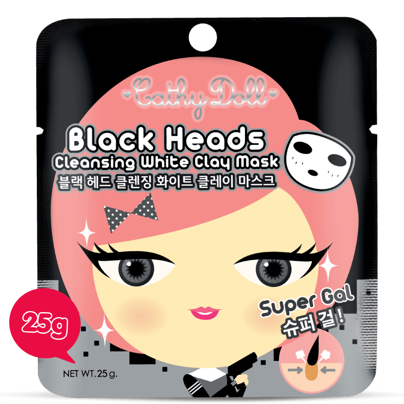 Black Heads Cleansing White Clay Mask