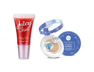 Juicy Tint Strawberry + White Plankton Cushion