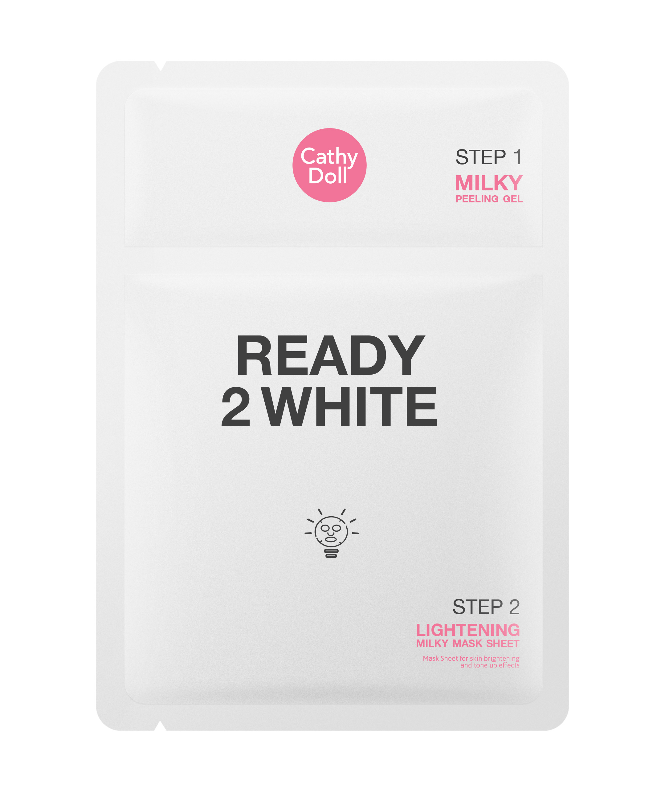 Ready 2 White Lightening Milky White Mask Sheet