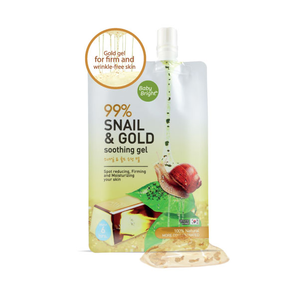 Snail & Gold Soothing Gel 50g