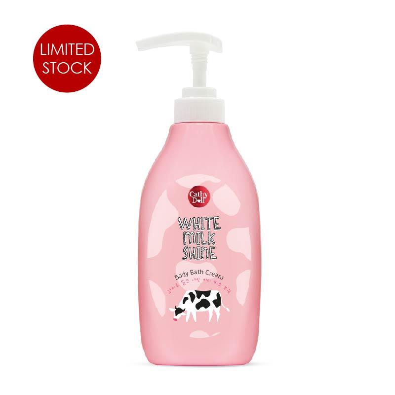 White Milk Shine Body Bath Cream