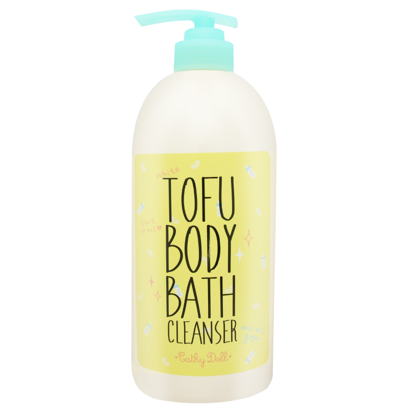 White Tofu Body Bath Cleanser
