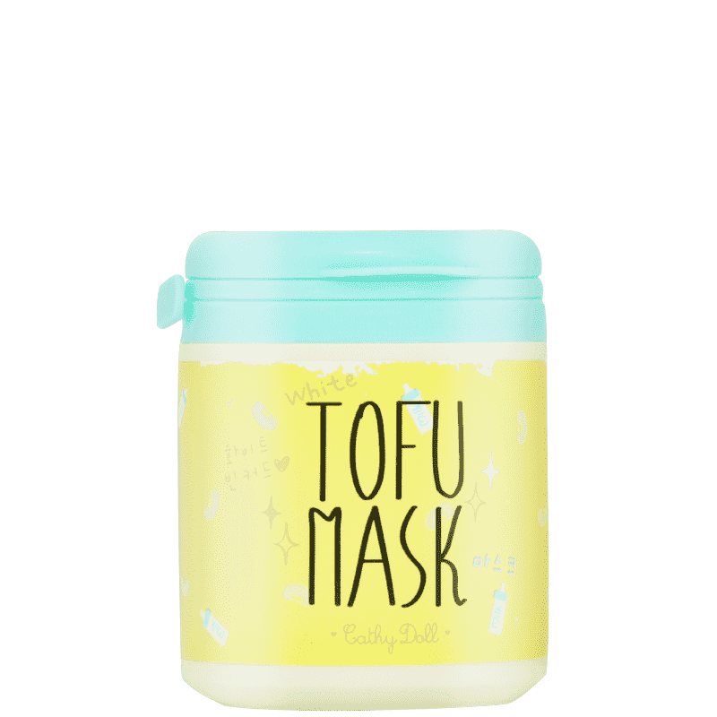 White Tofu Mask