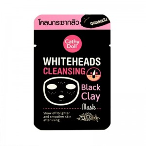 Whiteheads Cleansing Black Clay Mask 5g